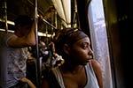 Q Train ~ Manhattan Bridge ~ 6:30pm