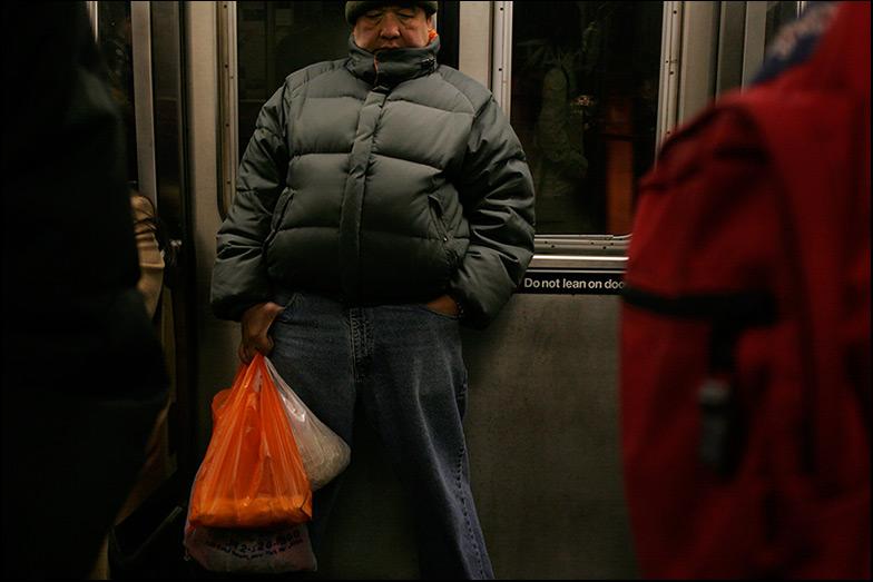 D Train ~ Manhattan Bridge ~ 6:45pm - Click for next Image